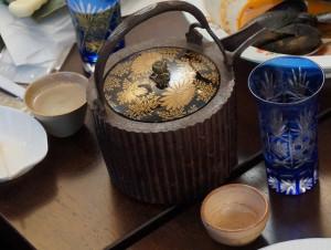 桃山時代の鐡銚子