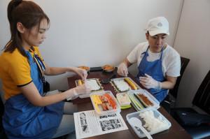 巻き寿司作成