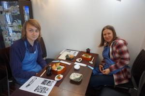 ご自身で作る巻寿司体験