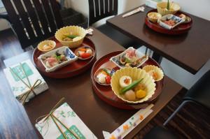 お料理(前回月見茶会)