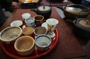 新年茶会 酒器