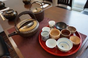 桃山時代の鐡銚子とお猪口・ぐい吞み